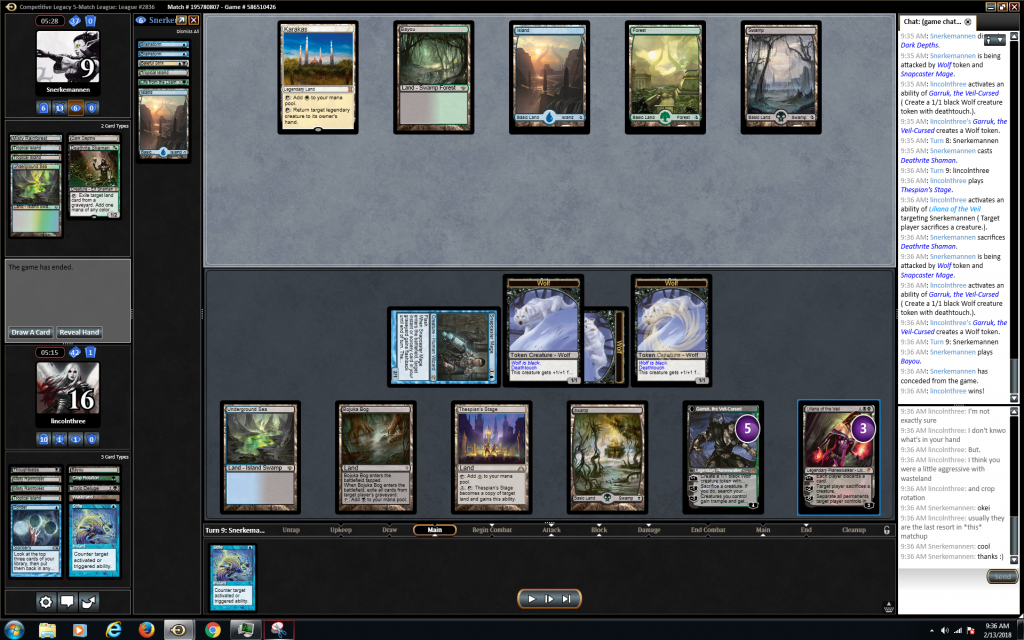 It happened – I finally played the mirror match on MTGO | BCL